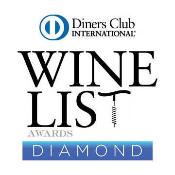 Wine List Awards Diamond | Signature Restaurant
