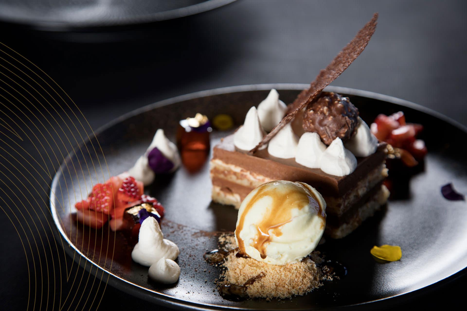 Ferrero Rocher Tiramisu | Signature Restaurant