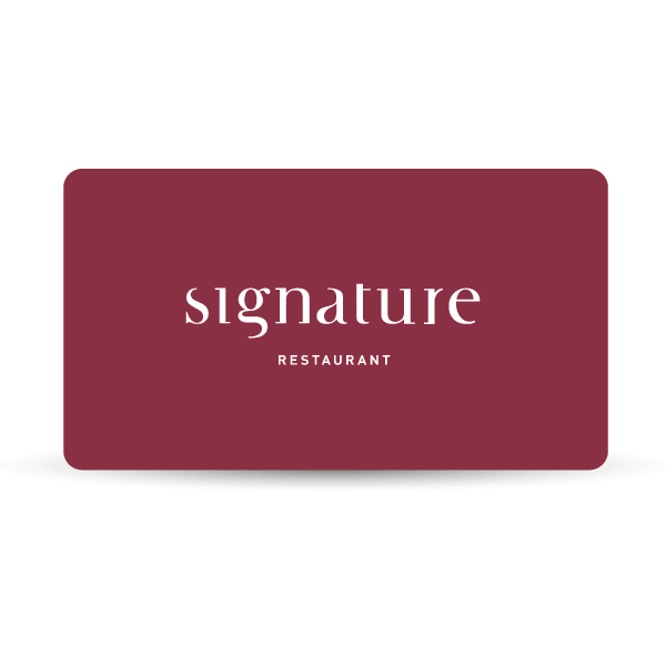 Signature - Gift Card
